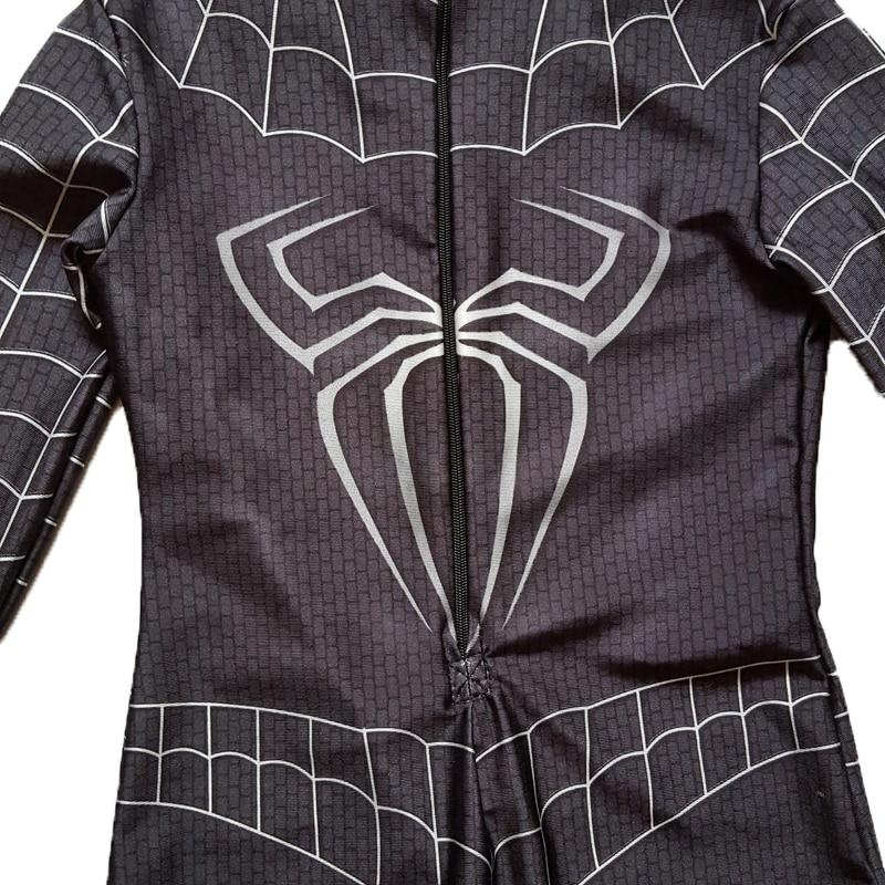 ΝΕΟ Μαύρο Spiderman Αγόρια Venom Κοστούμια - Καρναβάλι κοστούμια - Φωτογραφία 6