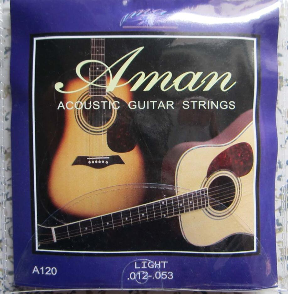 1set Guitar Strings Set  Silver Plating Super Light For Classic Acoustic Guitar High Quality Guitar Strings