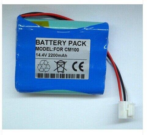 2200mAh New ECG battery for Edan Ve-100 series ECG M21R-064114