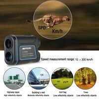 Открытый лазерный дальномер телескоп цифровой монокулярный дальномер Высокоточный дальномер для гольфа охоты