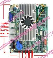 D525 motherboard dual network card plate 2g ram 6com 6 serial port support wifi 3g ipc board