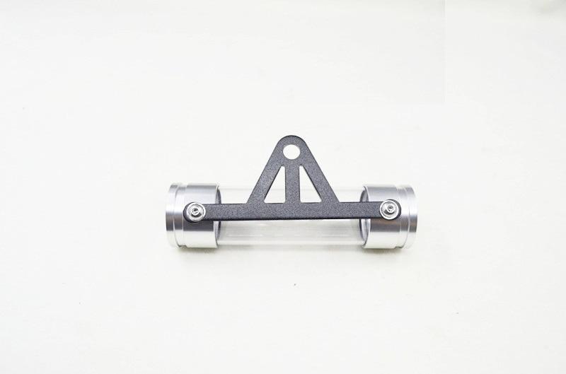 Bleu Tube de taxe moto-moto universelle moto disque de taxe s/écuris/é tube de support cylindrique cadre /étanche
