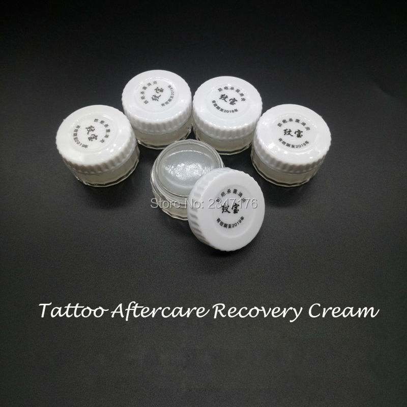 50Pcs Tattoo Aftercare Cream Skin Healing Recovery For Permanent Makeup Tattoo Repair Eyebrow And Lips Recovery