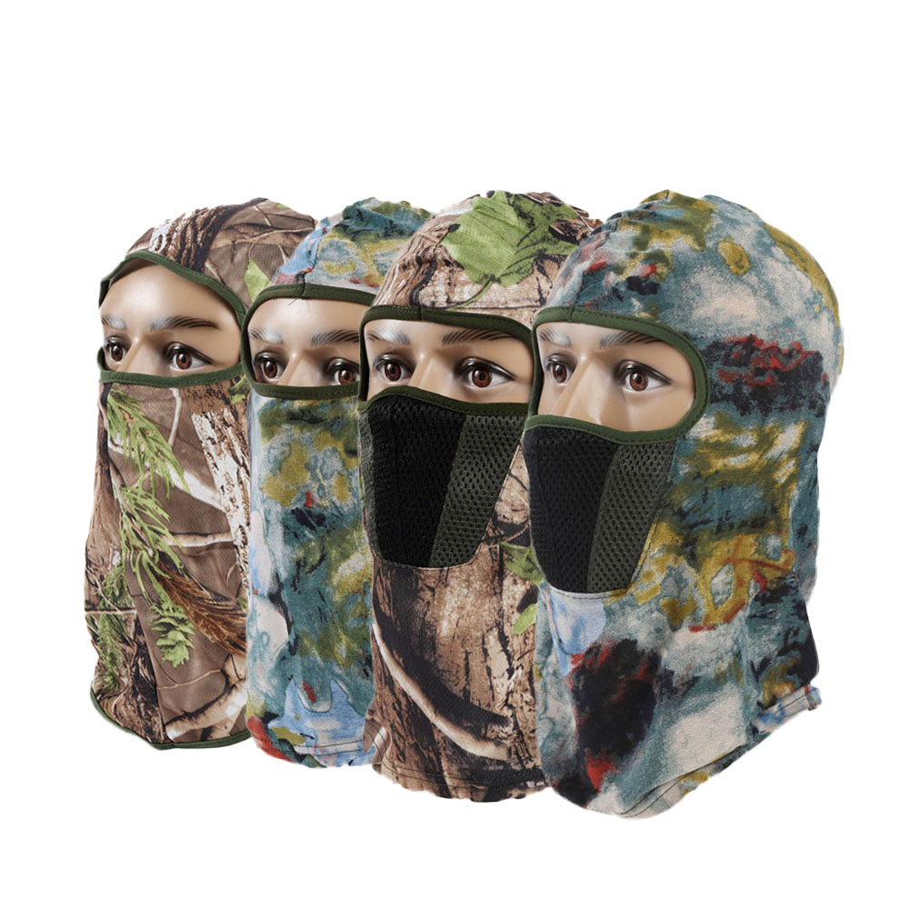 9119628e83c Camouflage Women Beanies Skullies Men Skull Full Face Masks Windproof  Quick-Drying Breathable Balaclava Hats Cap Tactical