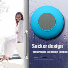 где купить Bluetooth Speaker Mini Wireless Shower Speakers Waterproof Handsfree Receive Car Speaker Portable for Phone MP3 Samsung дешево