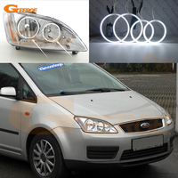 For Ford Focus C Max 2003 2004 2005 2006 2007 Halogen headlight Excellent Ultra bright illumination ccfl angel eyes kit