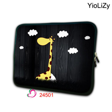 print giraffe waterproof Laptop sleeve soft 7.9 tablet case 7 shockproof Neoprene notebook bag for ipad mini cover TB-24501(China)