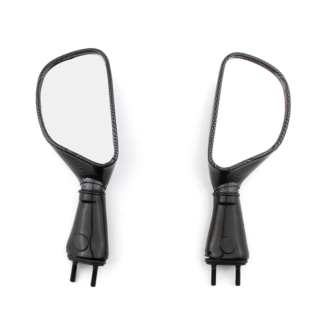For Kawasaki Ninja ZX6R ZX9R 650R ZX 6R 9R 650 R Pair Motorcycle Rearview Side Mirrors Motorbike Rear View Mirror CARBON
