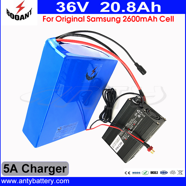 36V 1000W e-Bike Lithium ion Battery 36V 20Ah Electric Bike Battery For 36V 1000W 8Fun Bafang Motor With 5A Charger 50A BMS 30a 3s polymer lithium battery cell charger protection board pcb 18650 li ion lithium battery charging module 12 8 16v