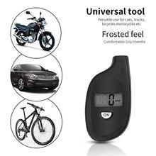Mini chaveiro medidor de pressão de ar portátil digital lcd 2 150 psi pneu roda pneu medidor de pressão de ar testador ferramenta procissão pneu