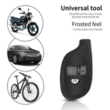 Mini porte clé manomètre de pression dair Portable numérique de pneu avec écran LCD, 2 150 PSI testeur de pression de pneu