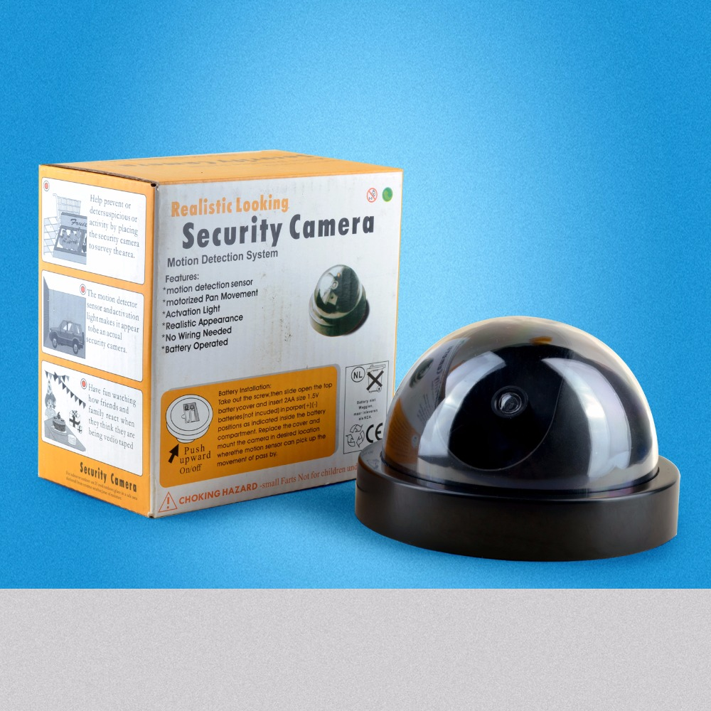 New Model Lowest price Outdoor Waterproof IR CCTV Dummy Dome of the LED fake Surveillance security