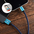 2.4A Aluminum Alloy Micro Usb Charger Cable  Sync Data Transmission Charging Cable for  Samsung S4 S5 S6 S7 Edge Note 4 5 1M/2M