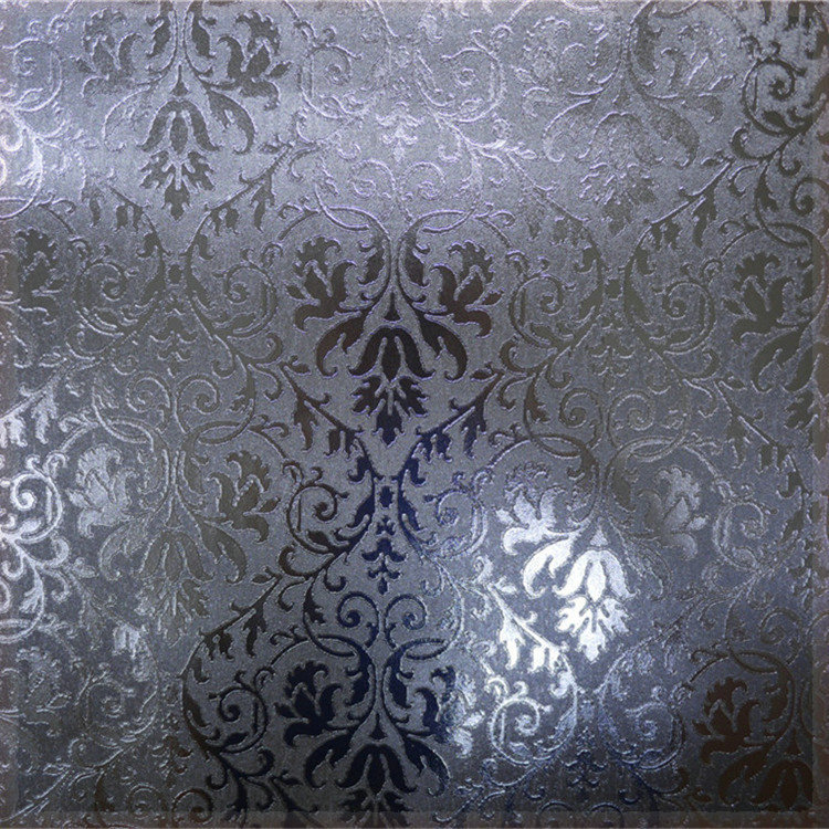 Free Shipping3d Wallpaper 2015 New Products Silver Metallic