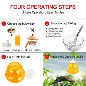 Image 5 - Abeille attrape ruche guêpe piège frelons jaune vestes guêpe répulsif frelon piège guêpe frelon pièges suspendus tueur maison jardin