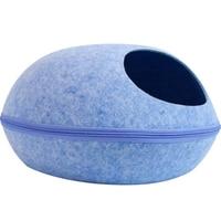 Large Felt Cat Bed Round Cave House Pet Bed Cooling Portable Indoor Pets Egg Beds Kat Mand Casinha De Gato Radiator Nest 50MW48