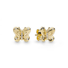 MINA BEAR [New] Fashion Exquisite S925 Original 1:1 High Quality Stud Earrings Free Shipping 267921CZ Female Ear Jewelry(China)