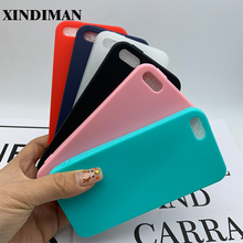 XINDIMAN 4.0inch for iphone 5s case solid color mayye plain silicone 5C cover soft TPU ultra thin fundas iphone5