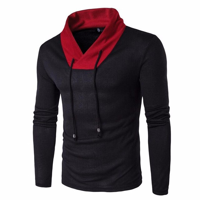 Fall men 's V - neck long - sleeved thin sweater men' s casual men 's clothing fashion sweater pullover sweater