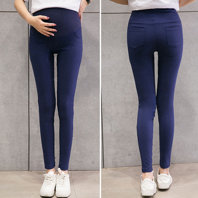 Skinny Maternity Pants For Pregnant Women Clothes Stretch Pencil Pants Nursing Leggings Pregnancy Clothing Spring Wear 6 Colors 1