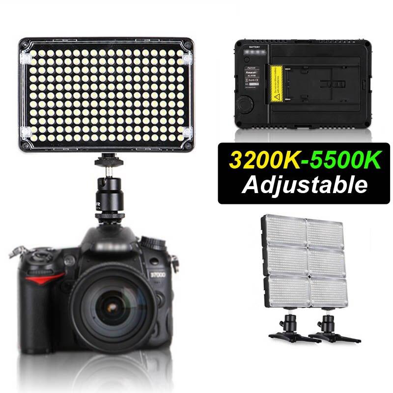 Pro Aputure Amaran H198C CR95+ LED Video Light Camera Camcorder Light Adjustable Colour Temperature For Canon Nikon Sony Pentax стоимость