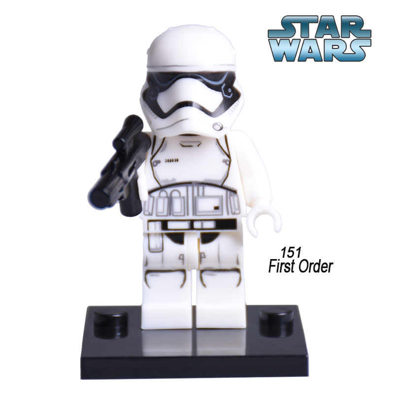 XINH 151 <font><b>Star</b></font> <font><b>Wars</b></font> 7 Diy figures First Order Stormtrooper Single Sale The Force Awakens Building Blocks Set Bricks Kids Toys