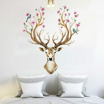 Deer Head 38*31inch 97*80cm