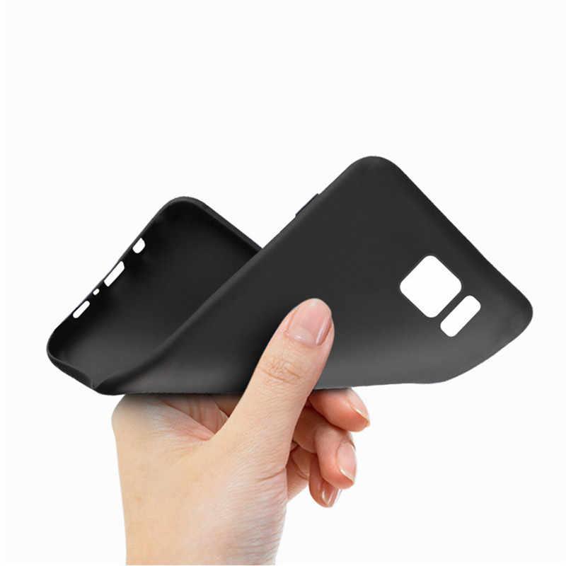 Casos de telefone de silicone para Samsung Galaxy A3 A5 A7 J3 J5 2017 S8 S9 Plus S6 S7 Borda C5 C7 coque C9 Pro Grande Prime Caso Tampa Traseira