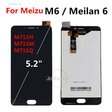5.2 inch For Meizu M6 LCD Display for Meilan M6 lcd M711H M711M M711Q full lcd touch screen Assembly Repair Parts цена и фото