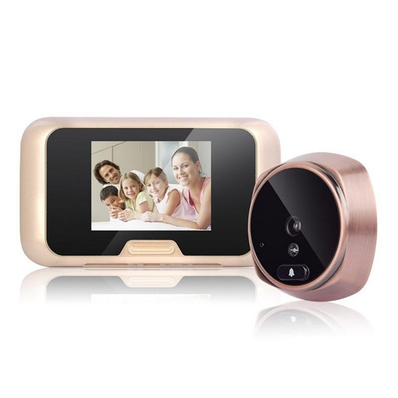 3.0 inch Color Screen Video Doorbell Digital Peephole Viewer IR Night Vision Door Peephole Camera Mini Outdoor Security Camera