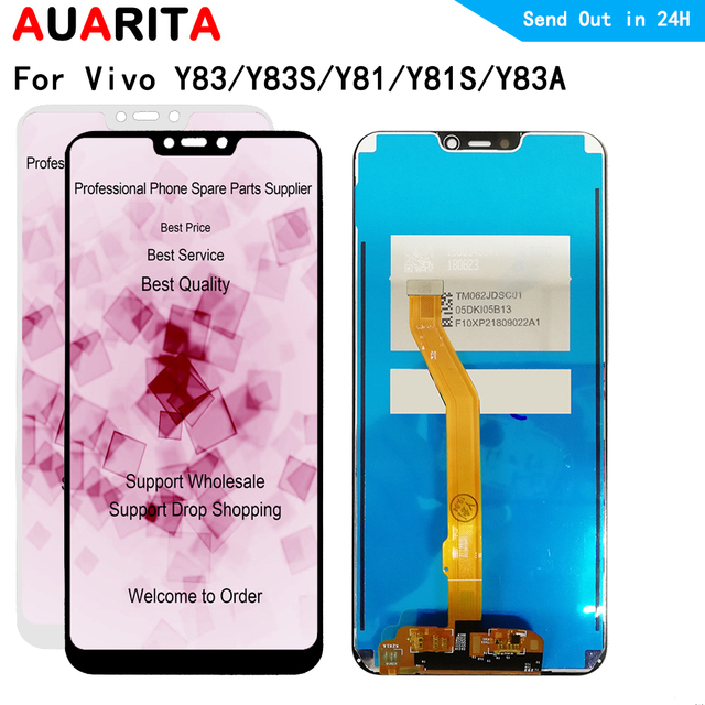 """6.22"""" LCDs For Vivo Y83 Y83S LCD Display Touch panel Screen sensor Digitizer Assembly IPS LCD 720*1520 for Vivo Y81 Y81S Y83A"""