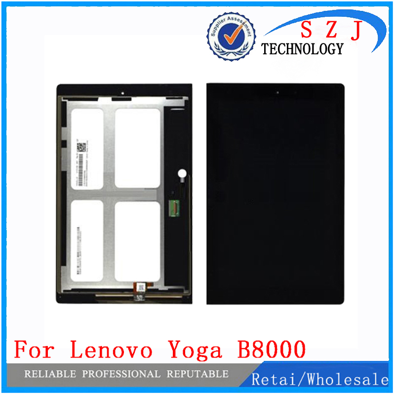 New 10.1 inch 1280*800 For Lenovo Yoga B8000 New LCD Display + touch Panel Screen Monitor Repair Replacement free shipping for samsung galaxy tab4 8 0 t330 t331 new lcd display and touch panel screen monitor moudle repair replacement