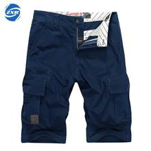 Men's Tactical Military Outdoor Male Sports Overalls Straight Beach Trousers Men Hiking Shorts No Belt Loose Breathable Men(China)