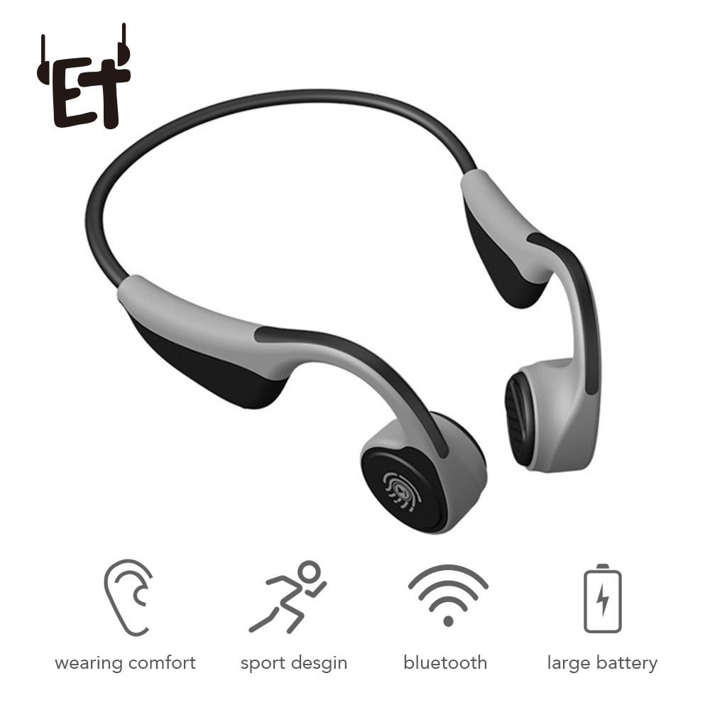 Bluetooth 5.0 V9 Headphones Bone Conduction Wireless Earphone Outdoor Sport Headset with Microphone Headsets VS Z8 Headset