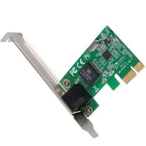 Image 5 - 1000Mbps Gigabit Ethernet adaptateur PCI Express PCI E carte réseau 10/100/1000M RJ 45 RJ45 LAN adaptateur convertisseur contrôle réseau