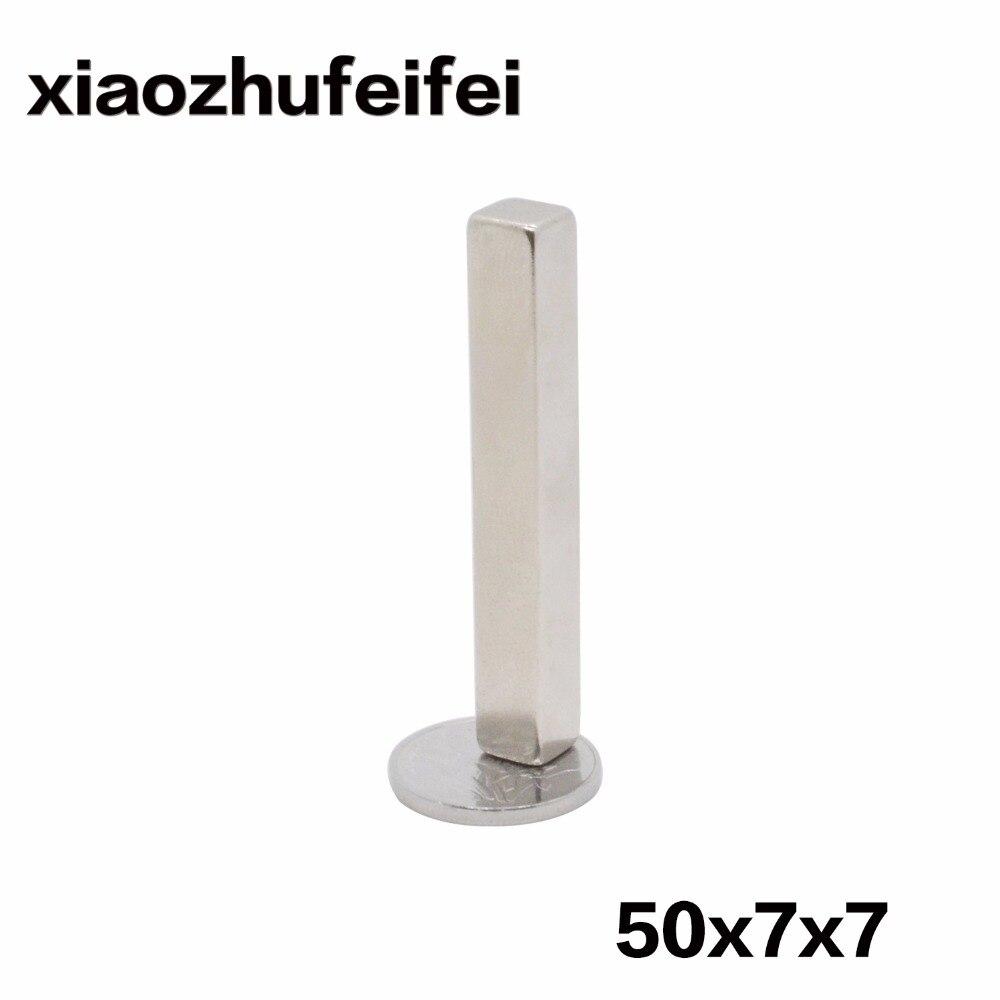 10 PCS 50 7 7 MM forte poder pequeno neodímio sinterizado ndfeb ímã  permanente de terra rara 3d167b1413
