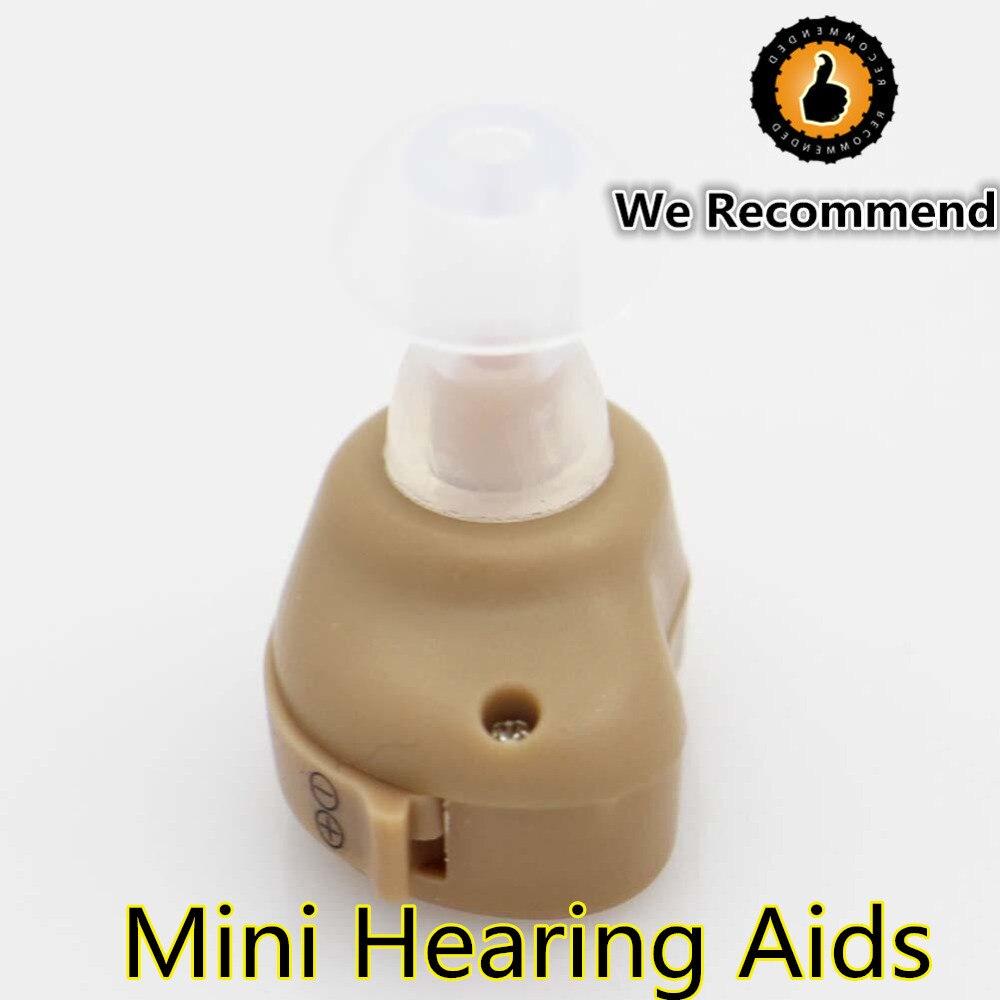 2018 Baru Hot Jual Mini Audiphones Suara Terbaik Amplifier Hearing Aid Alat Bantu Dengar Adjustable Nada Digital Terlihat Perawatan Kecantikan Set Di Perlengkapan Mandi