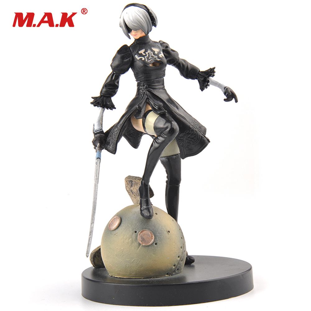 "BATTLE FIGURE PS4 6/"" IN BOX NIER AUTOMATA// FIGURA 2B YORHA No 2 TIPO B 15 CM"