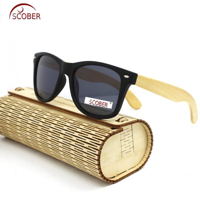 7179f2ba01  SCOBER  Retro Trend Bamboo Wooden handmade frame Unisex polarized  sunglasses Mirror Coated UV400 sun