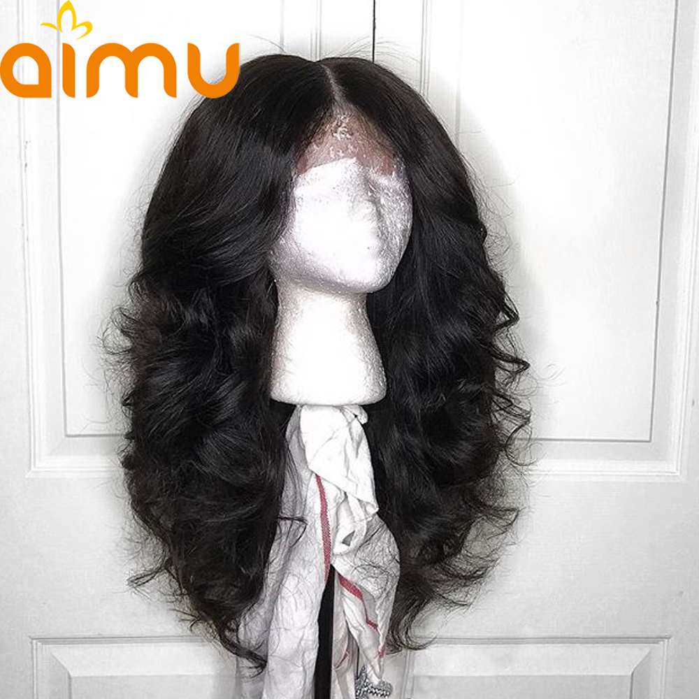 13X6 Deep Part Lace Front Human Hair Wigs With Baby Hair 250 Density Loose Wave Peruvian