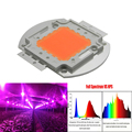 1pcs Wholesale 400nm-840nm Full Spectrum led grow chip 50W 100W led plant lights Light Source For Flower Plant Hydroponics