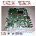 Frete grátis Para Touchsmart IPISB-NK 696484-001 220-1028CN 220-1128CN Motherboard 705028-001 705028-501 705028-601