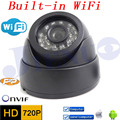 Câmera Ip 720 p HD Wi-fi Embutido Sistema de Segurança CCTV Sem Fio Cam Infravermelho Interior Mini Kamera Onvif H.264 Visão Nocturna do IR Camara