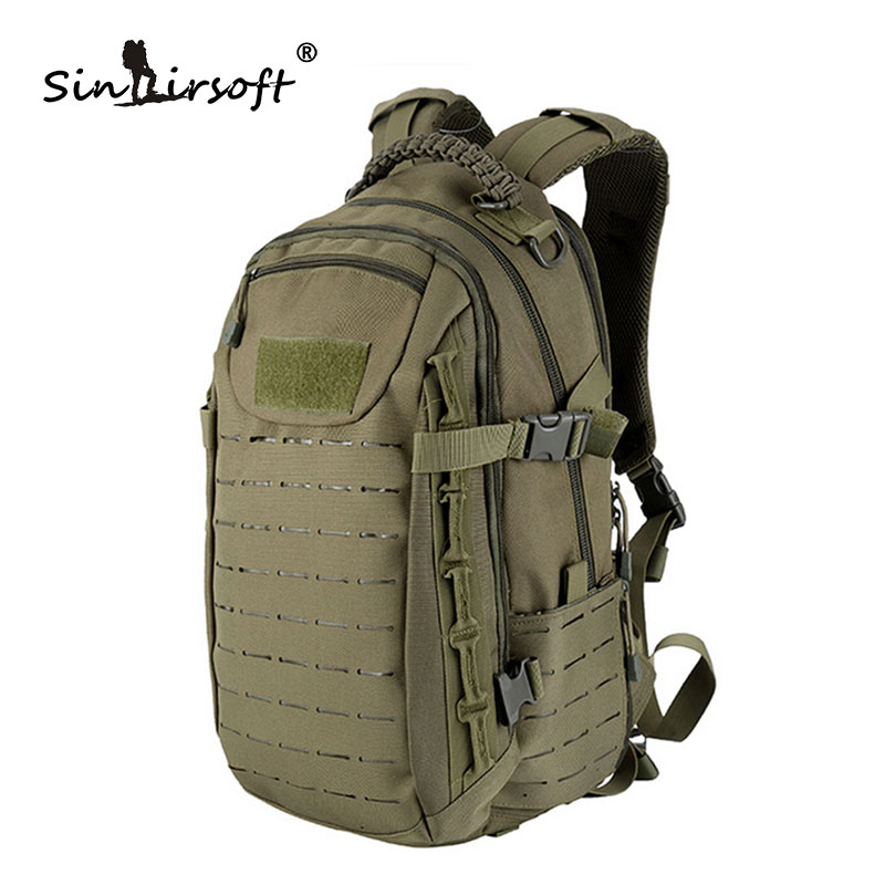 Tactical Backpack Laser Cut Molle PALS Dragon Egg Bag 25L Sport Bag Military Backpack Hiking Outdoor Bags EDC Tactical Gears protector plus sports outdoor military molle tactical bag backpack for mochila camping travel hiking backpacks bags sporttas