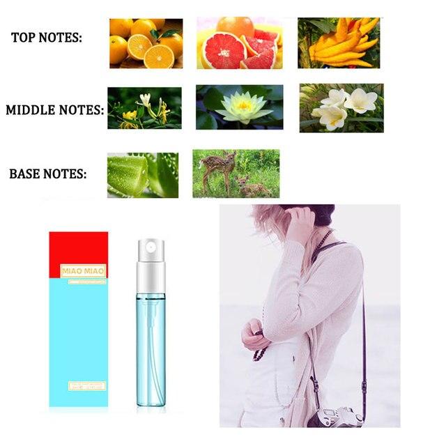 1PCS 3ML Perfume For Men And Women Atomizer Bottle Glass Fashion Lady Female Parfum Long Lasting Flower Fragrance Deodorant 2