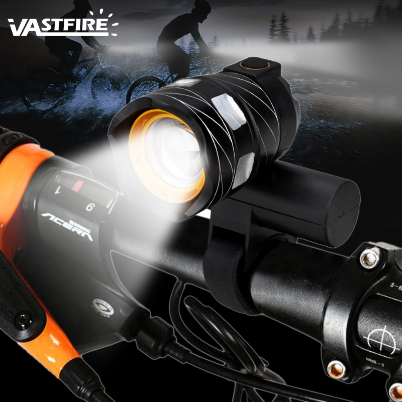 15000lm 3x XM-L T6 LED 4 Mode Bicycle Light Bike Front Lamp Torch USB Headlight