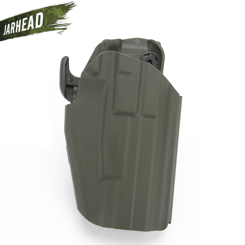 Tactical Holster Clip Waist Concealed Universal Tactical Pistol for Glock 18 19 20 21 22 23 37 38 Pistol Waist M&P Gun Holster image