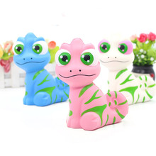 Big Eyes Simulation Lizard Cute Squishy Slow Rising Soft Squeeze Toy Phone Strap Scented Relieve Stress Funny Kid Xmas Gift(China)