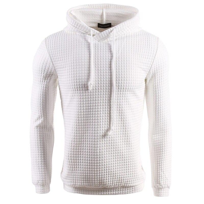 2018 Autumn Winter Design Sweatshirt Hoodie Ripped Damage Solid Warm Men Color Fashion Sweatshirts Casual Pullover Hip Hop T6