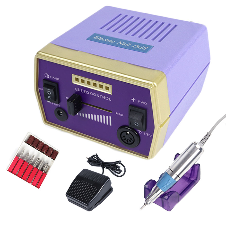 30000RPM Nail Art Drill Machine Set Electric Gel Cuticle Remover Milling Bits Manicure Accessory Pedicure Nail Tools JIHBS-288-1